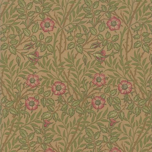 Moda Best of Morris - Fall : William Morris 'Sweet Briar' Fabric (0511)