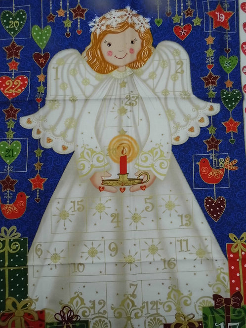 Angel Advent Calendar Panel by The Henley Studio