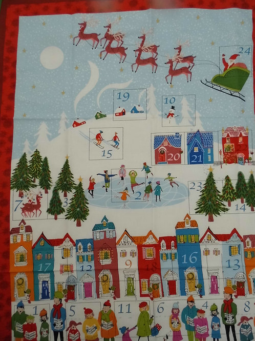 Wonderland Advent Calendar Panel by The Henley Studio