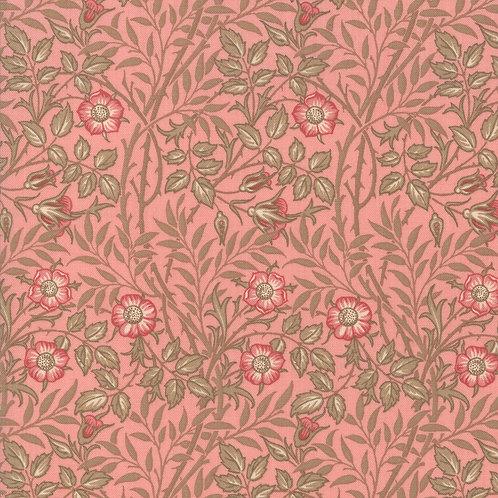 Moda Best of Morris - Spring : William Morris 'Rose' Fabric (0508)