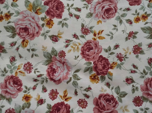 Lecien Pink Floral fabric