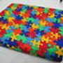 Timeless Treasures Puzzle fabric C1653 (0580)
