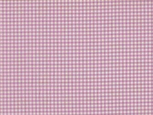 Makower Gingham in Lilac