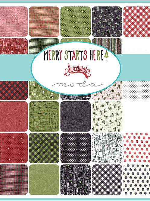 Moda Scrap Bag Merry Starts Here by Sweetwater