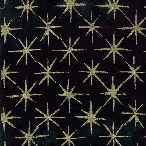 Moda Grunge Seeing Stars Metallic by Basic Grey 30148-51M 'Black'