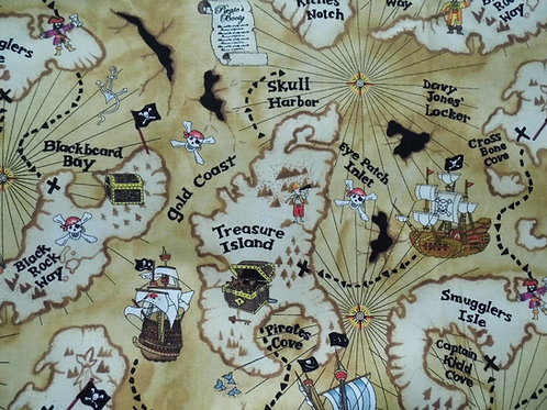 Timeless Treasures Treasure Map