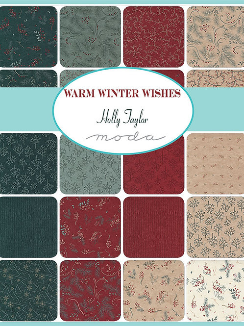 Moda Scrap Bag 'Warm Winter Wishes' by Holly Taylor
