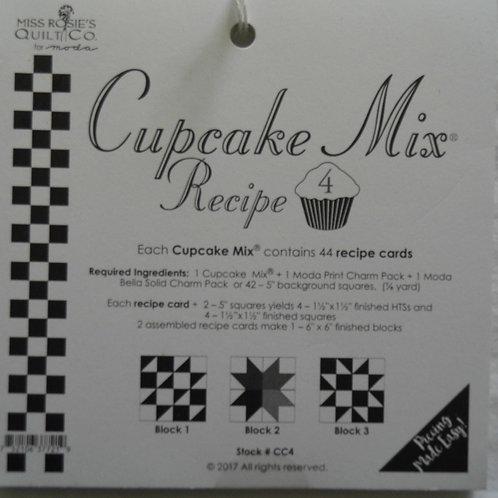 Moda Cupcake Mix Recipe No. 4 for Charm Packs