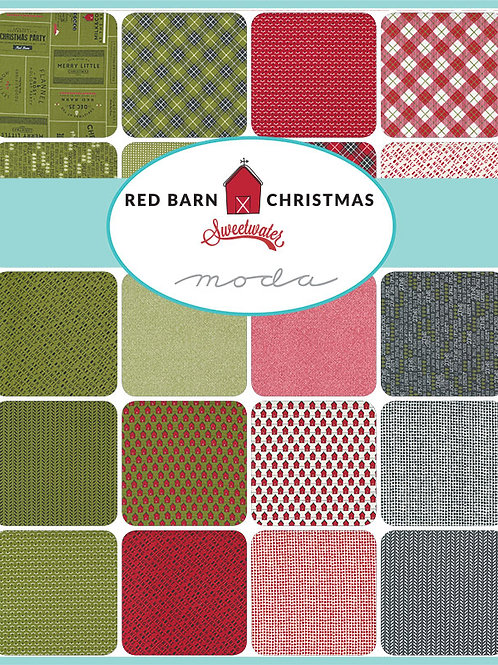 Moda Scrap Bag 'Red Barn Christmas' by Sweetwater