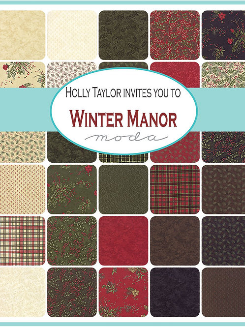 Moda Scrap Bag Winter Manor by Holly Taylor