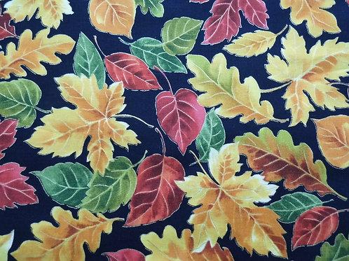 Timeless Treasures Autumn Leaves Harvest CM5207