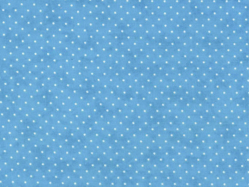 Moda Essential Dots in blue #8654-35