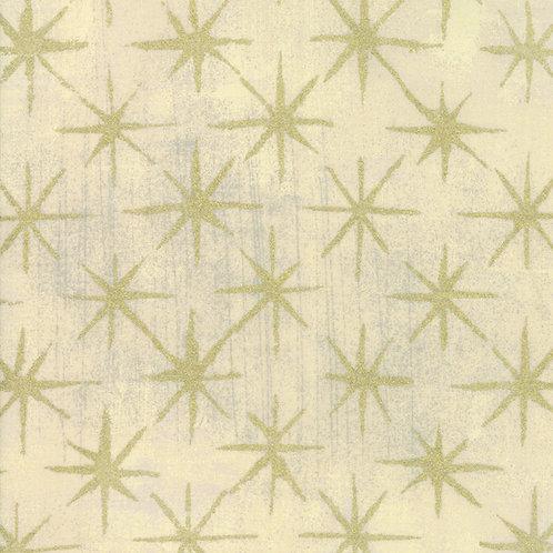 Moda Grunge Seeing Stars Metallic by Basic Grey 30148-13M 'Manilla'