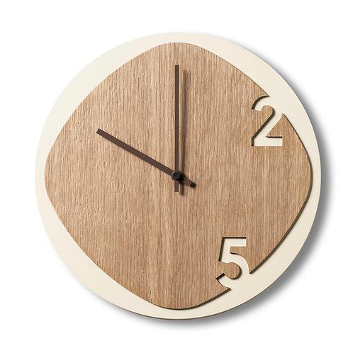 Clock25 Light wood