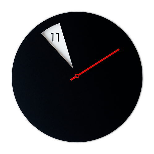 FreakishCLOCK Black/red