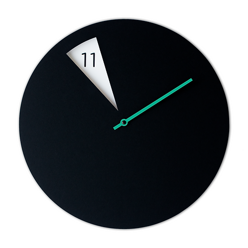 FreakishCLOCK Black green