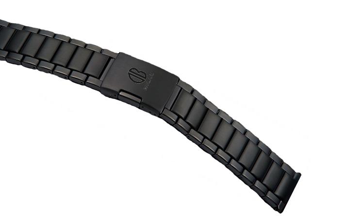 Metal black strap