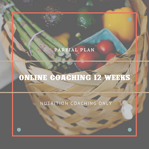 Partial Online Coaching - 12 Weeks