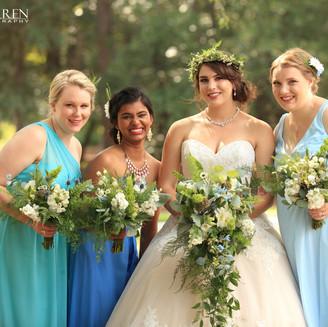 The Oaks at Salem bride