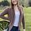 Thumbnail: Alpaca Sweater  Plum Color -Small