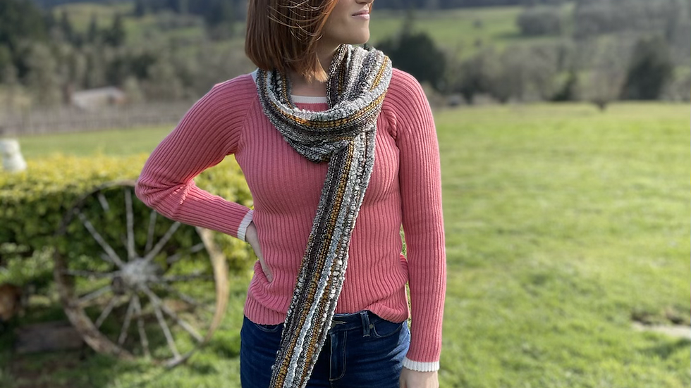 Pink 💯 Alpaca sweater -Spring is here! Accent it with one the alpaca scarves!