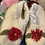 Thumbnail: Hand made flower design shoes for toddlers  -Peru