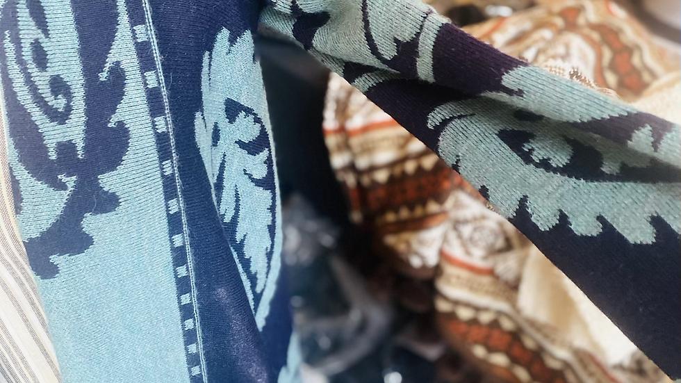 Alpaca sweater -Small Beautiful Pattern
