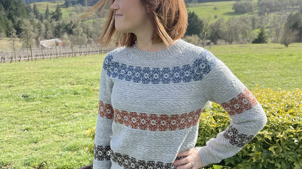 Alpaca sweater