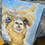 Thumbnail: Alpaca on canvas paintings