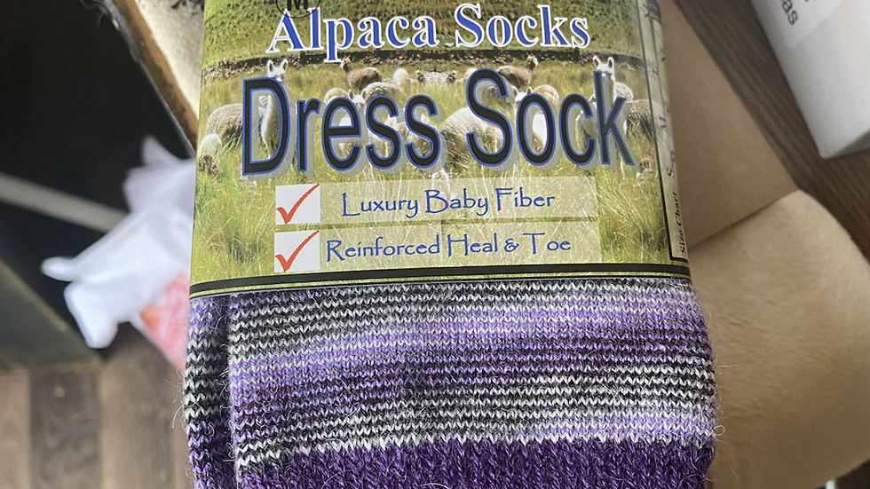 Purple Dress  Sock