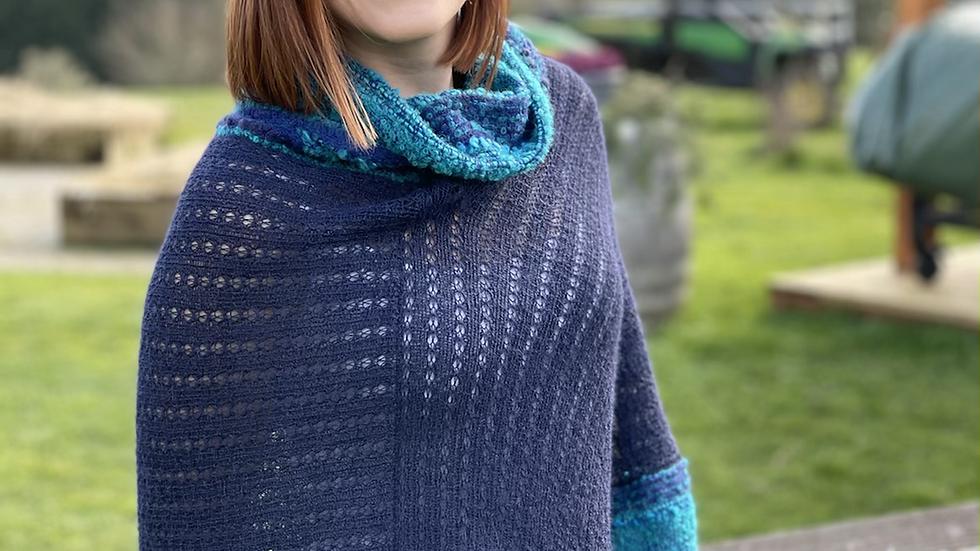 Beautiful 100 percent alpaca shawl