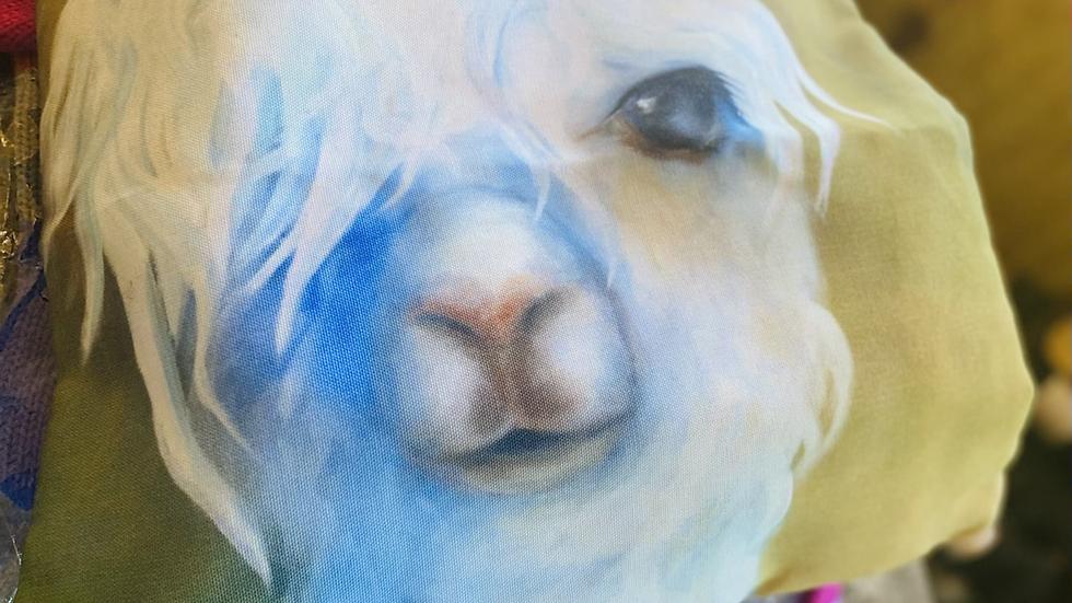 Alpaca Beautiful Pillow Cover !