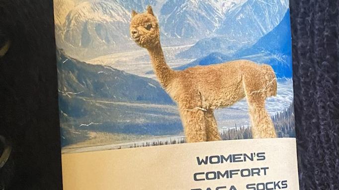 Women's Comfort Alpaca sock
