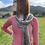 Thumbnail: Pink 💯 Alpaca sweater -Spring is here! Accent it with one the alpaca scarves!