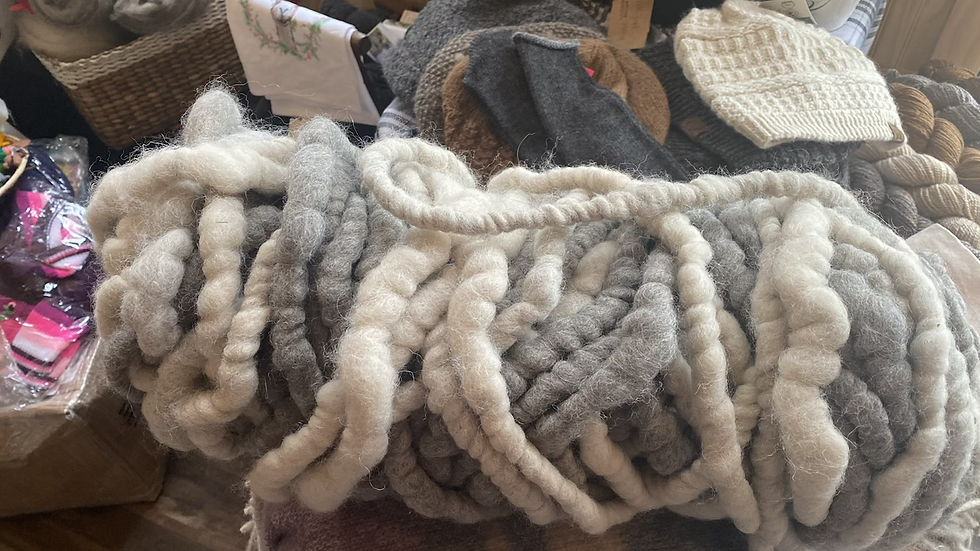 Alpaca rug yarn -150 yard bundle
