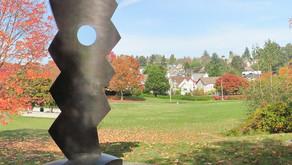 Urban Peace Circle Sculpture in Sam Smith Park