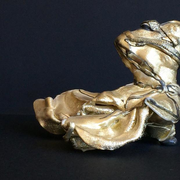 Kim Collin, Sculpture effet métal, non daté