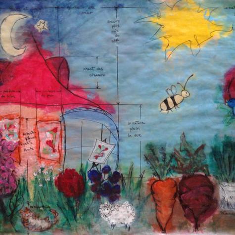 Sylvie Carmichael, La nature plein la vue, 2020