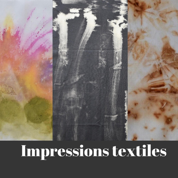 Kim Collin, Impression textile, non daté
