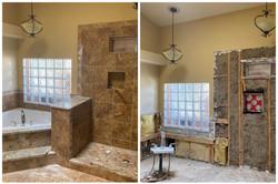Tile Shower and Bath Demolition in Scottsdale, AZ