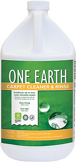 Carpet Cleaner and Rinse