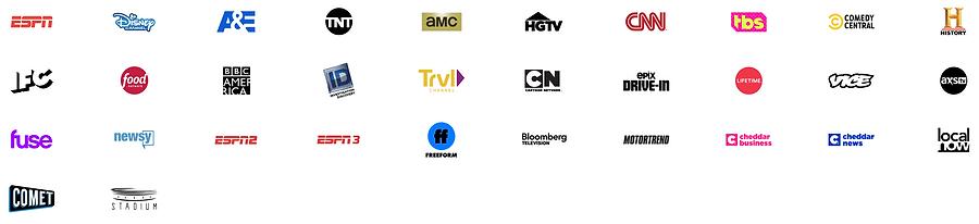 Sling TV Orange Channel Options