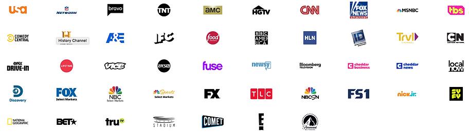 Sling TV Blue Channel Options