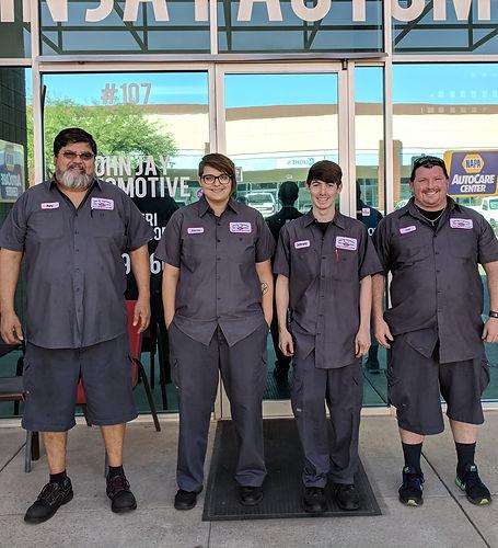 John Jay Automotive Team
