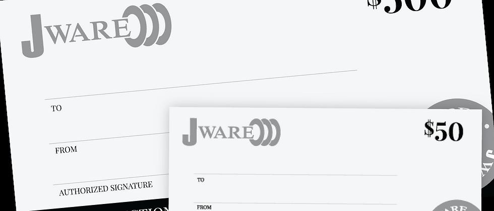 $550 Jware Gift Certificate