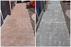 Outdoor Ceramic Tile Floor Removal & Disposal in Phoenix, AZ