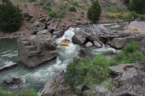 Sevy Falls, Jarbidge, Whitewater River Rafting Adventure