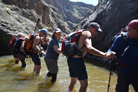 Canyoneering Gorge