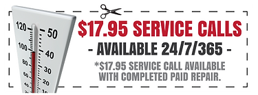 Air Conditioning Service Call Coupon