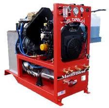 MasterBlend El Diablo Heat Exchange Truckmount